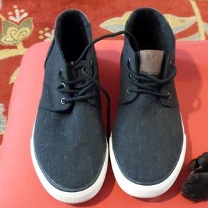 Andrew Marc canvas sneakers